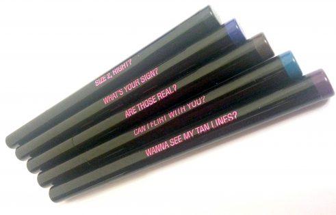 PLAYBOY COSMETICS FELT TIP EYELINER - PICK BLACK / BLUE / BROWN / GREEN / PURPLE