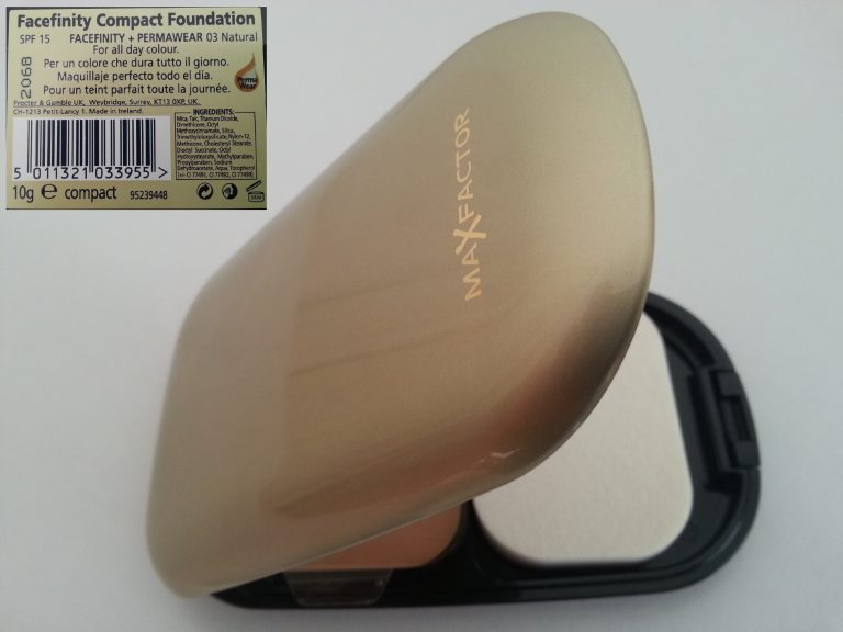 MAX FACTOR FACEFINITY COMPACT FOUNDATION - 03 NATURAL OPEN