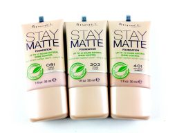 RIMMEL STAY MATTE SHINE CONTROL FOUNDATION - ALL-1