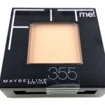 MAYBELLINE FIT ME PRESSED POWDER - 355 COCONUT -1