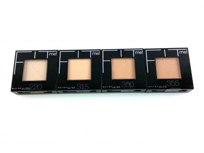MAYBELLINE FIT ME PRESSED POWDER - ALL -1