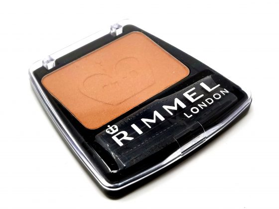 RIMMEL POWDER BLUSH COMPACT BLUSHER WITH BRUSH - 121 AMBER