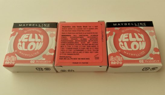 MAYBELLINE BLUSH STUDIO JELLY GLOW BLUSHER 02 FRESH PINK