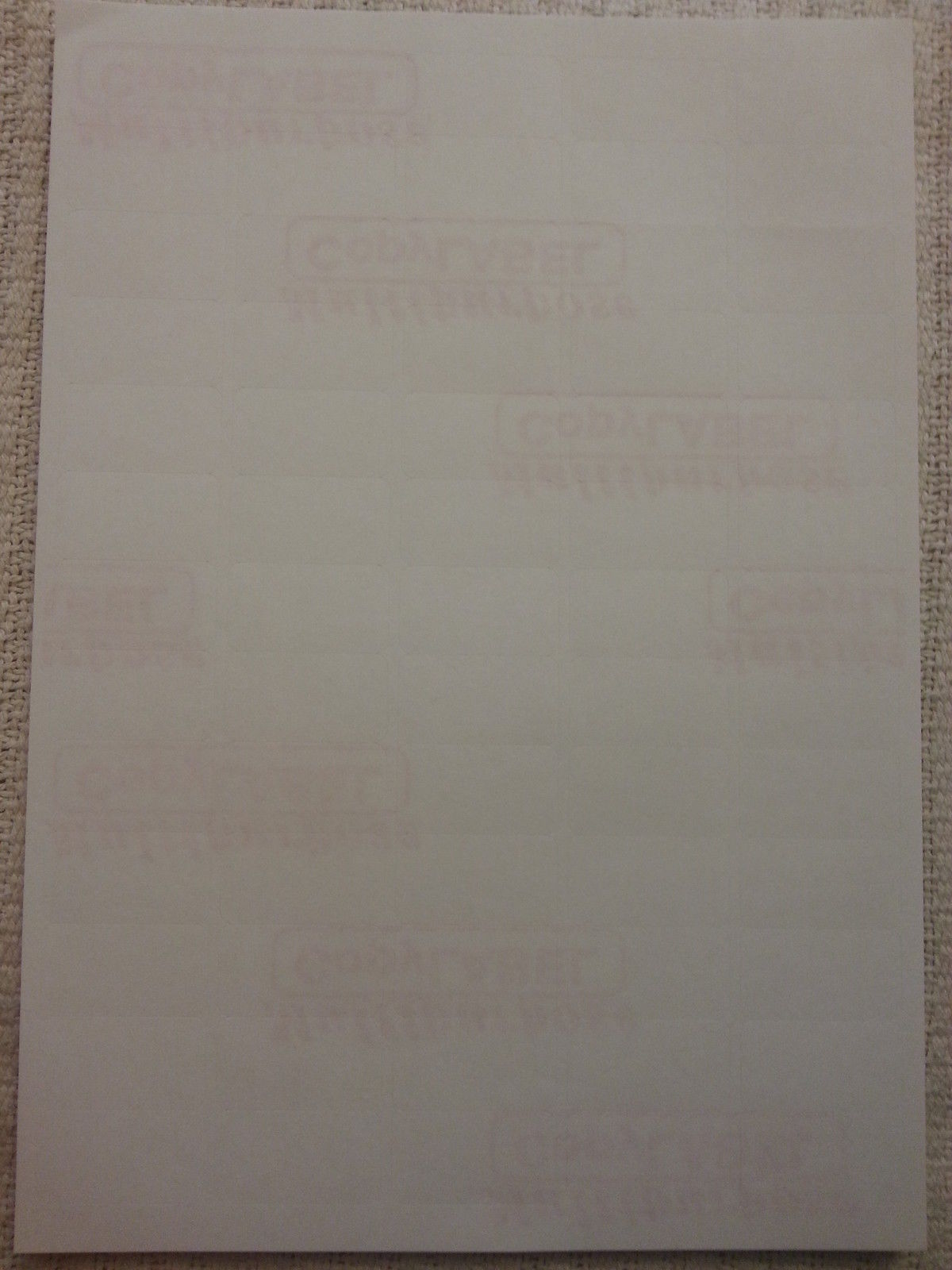 260 self adhesive sticky address labels
