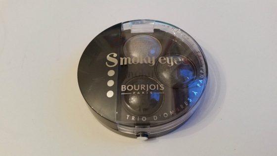 BOURJOIS SMOKY EYES TRIO EYESHADOW - GRIS DANDY