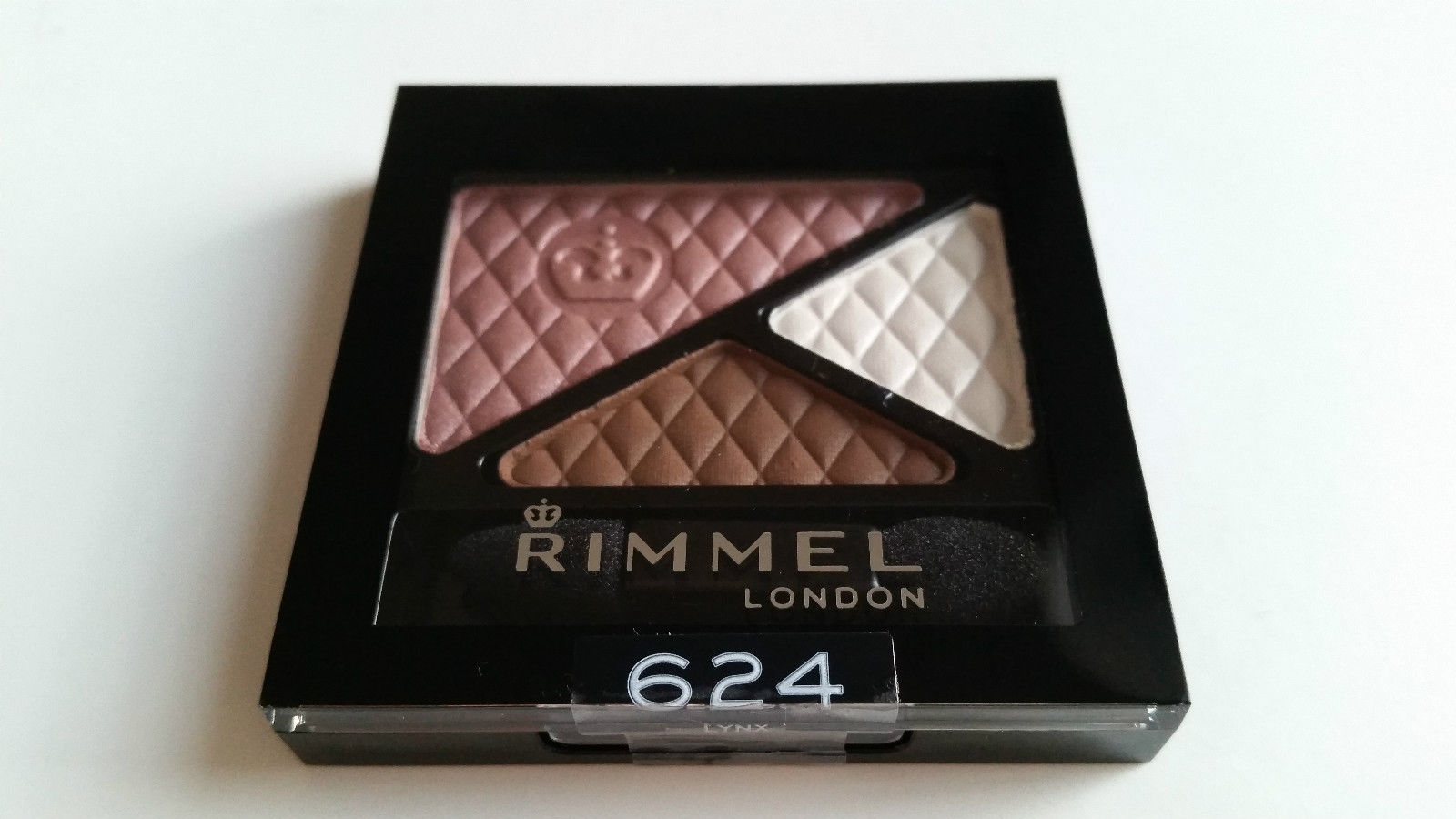 RIMMEL GLAM'EYES TRIO EYESHADOW - 624 LYNX