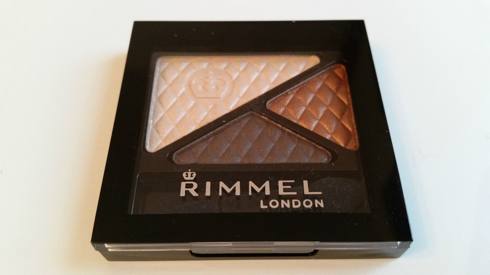 RIMMEL GLAM'EYES TRIO EYESHADOW - 650 SUMMER CHIC